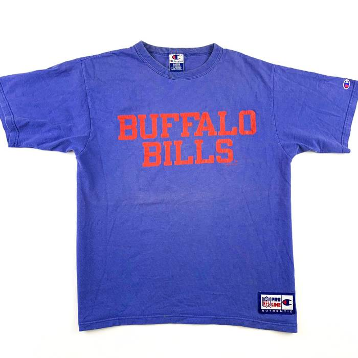 799aae429 Champion Vintage 90s Buffalo Bills Tee Size l - Shirts (Button Ups ...