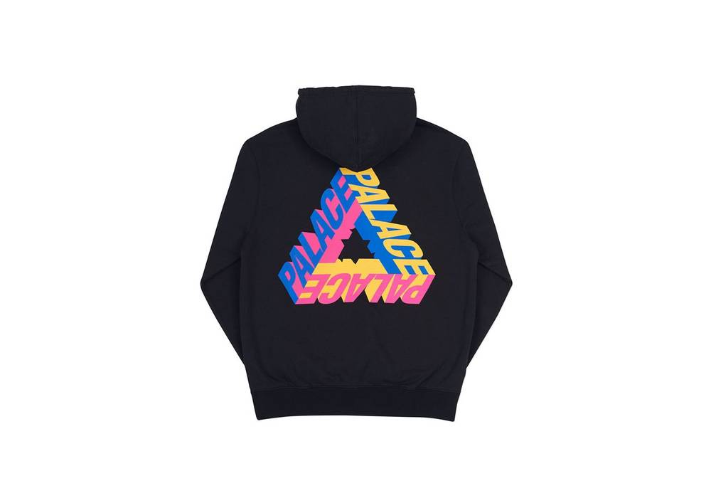 445f6db231c8 Palace P-3D Hood Black Size l - Sweatshirts   Hoodies for Sale - Grailed