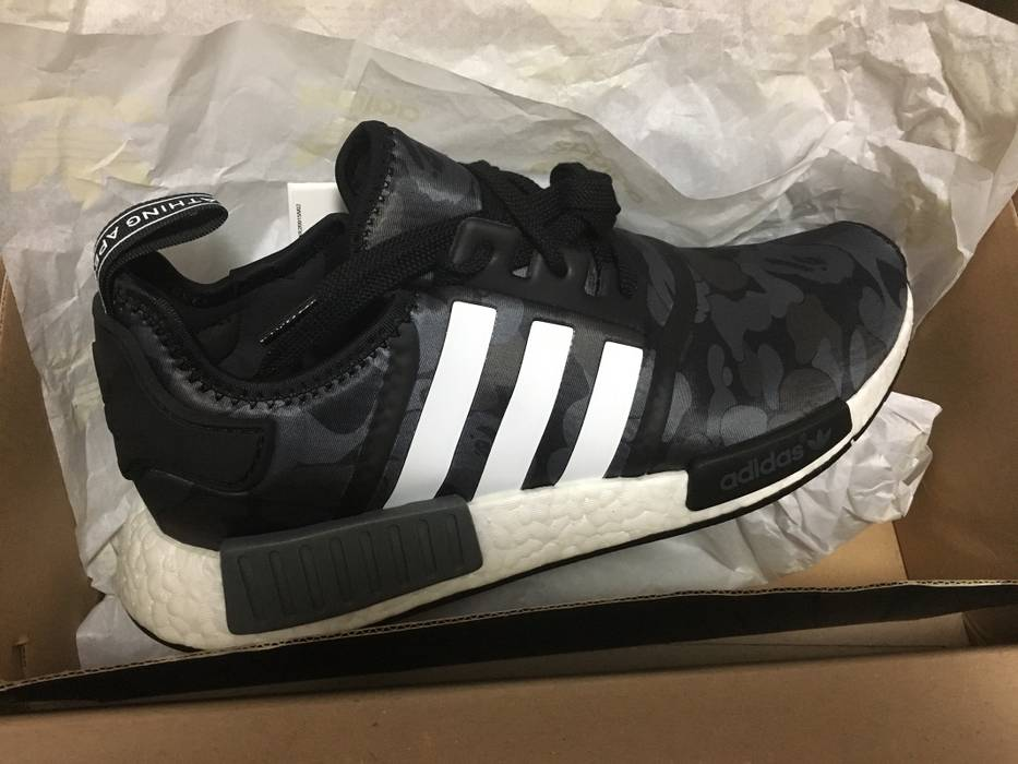 74fde915f07c3 Adidas Adidas Bape NMD Black Camo Size 10 - Low-Top Sneakers for ...