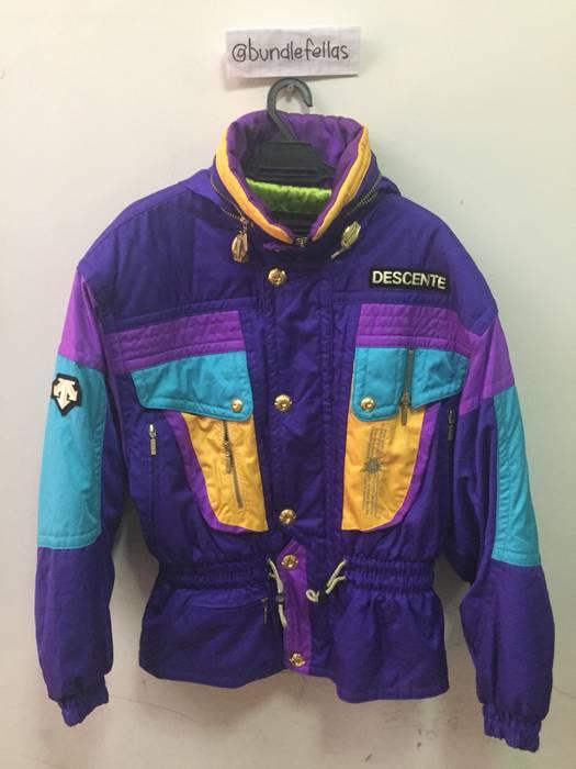 Vintage Vintage Descente Snowboard Winter Ski Jacket Multiicolour Size US M    EU 48-50 c6bf7c0ea