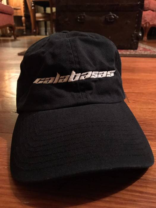 c891f6ed318 Adidas Kanye West Calabasas Hat Cap Kanye West Adidas Powerphase Black Size  ONE SIZE