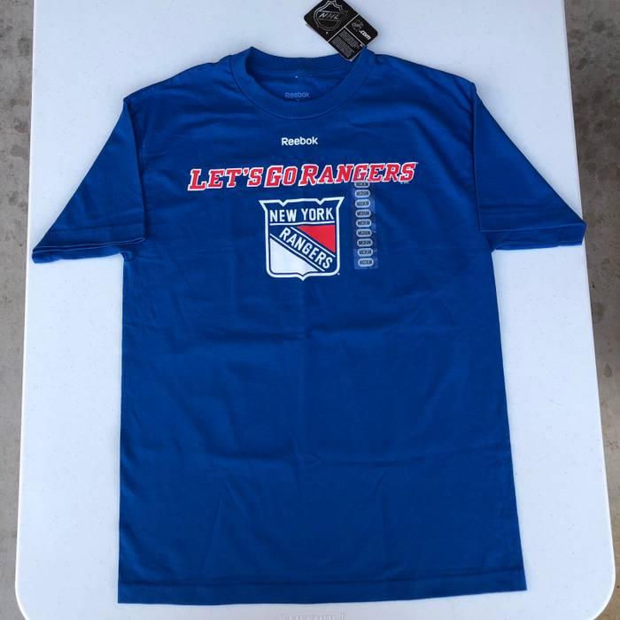 Reebok BRAND NEW New York Rangers T Shirt Size m - Short Sleeve T ... fea3d7784