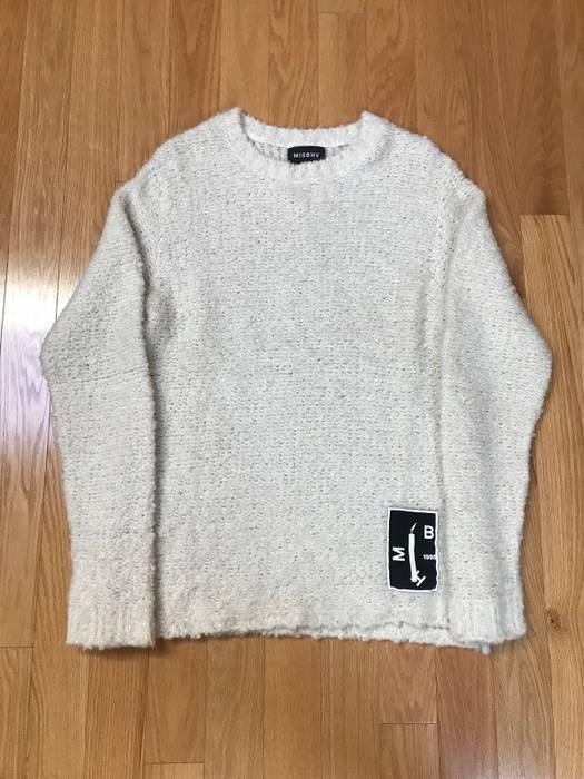 e7a4dbb3d3 Misbhv Misbhv Soft Oversized Sweater Knitwear Long Sleeve Cream ...