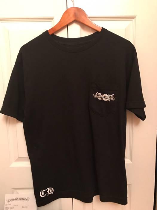 e0576a9a7d5c Off-White Chrome Hearts x Off White Miami T-Shirt Size m - Short ...