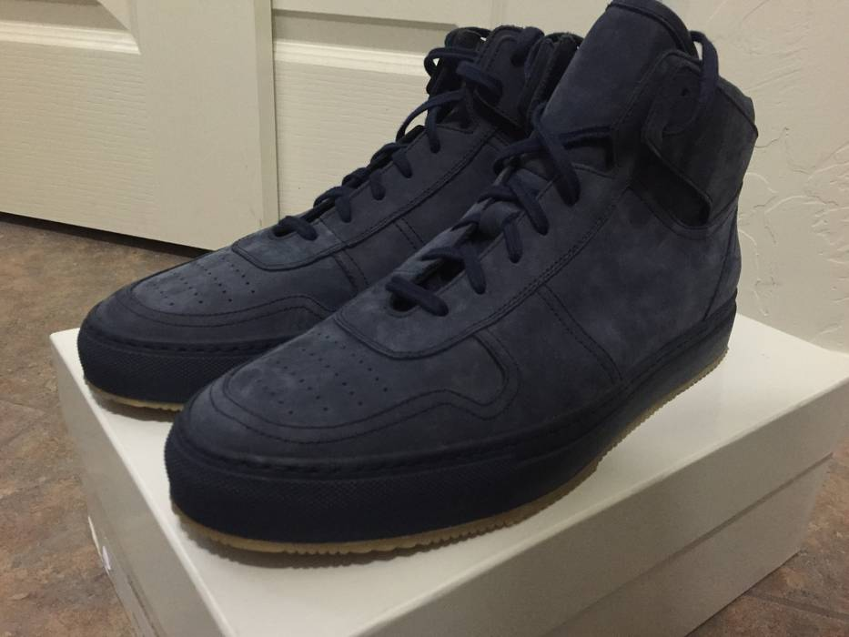 5894a4415b5 Common Projects Basketball High Navy Suede Size 11 - Hi-Top Sneakers ...