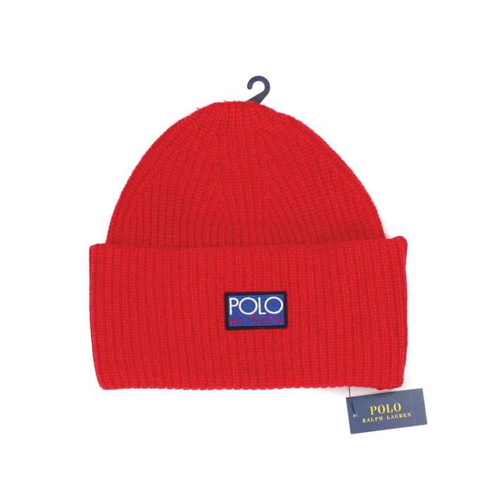 Polo Ralph Lauren POLO RALPH LAUREN - POLO HI TECH BEANIE - RED - ONE SIZE 91631b59674