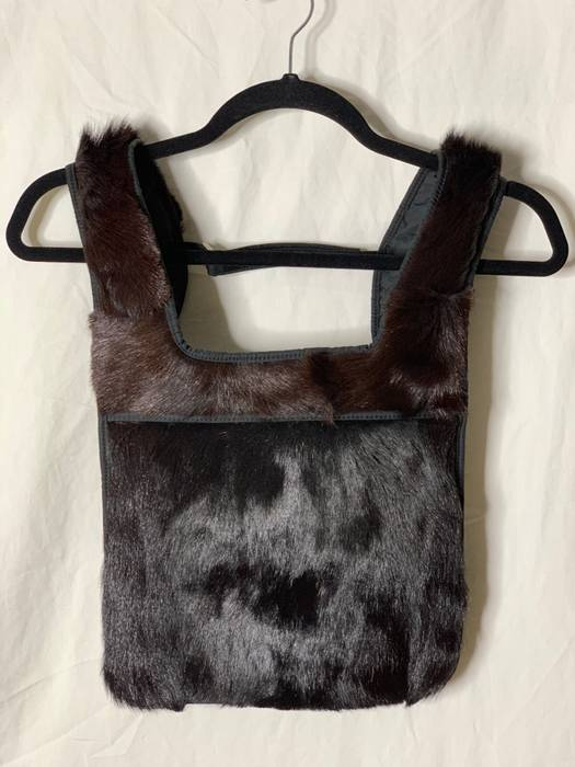6268077f710d Prada 1999   AW 99 Prada Goat Fur Backpack   Chest Rig Size one size ...