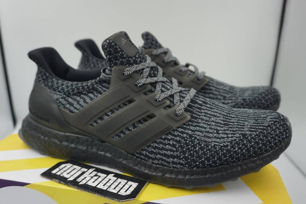 Adidas Adidas Ultra Boost 3.0 Limited Triple Black Silver Grey ... 668c5d077