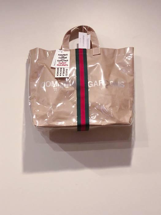 7e2d6dbfc9d Gucci Comme des Garcons x Gucci PVC Tote Bag Size one size - Bags ...