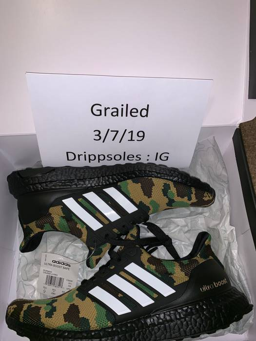 c069412e412 Adidas Adidas x bape ultra boost Size 10 - Low-Top Sneakers for Sale ...