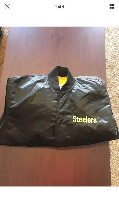 Starter Starter Pro Line Pittsburgh Steelers NFL Jacket Vintage 80s Size US  XL   EU 56 d23d228d0