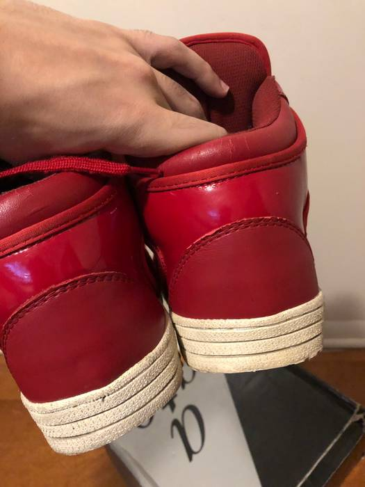 Kanye West 2008 Ato Matsumoto Red Cowhide Boots Size US 10   EU 43 - 4 892fbfd2d4