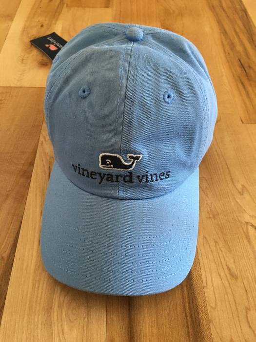 Vineyard Vines. Vineyard Vines Classic Whale Logo Baseball Dad Hat Carolina  blue adjustable. Size  ONE SIZE 543305f61a0a