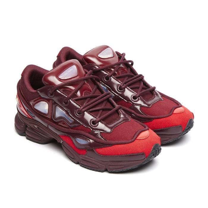 hot sale online 9896c a946e Adidas Raf Simons Ozweego III BurgundyMaroonScarlet SS18 Size US 10  EU