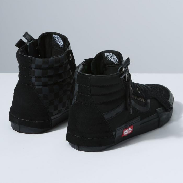 c92cd23f4ee Vans Vans Checkerboard SK8-HI (Size US Men s 11.5) Black Reissue Cap ...