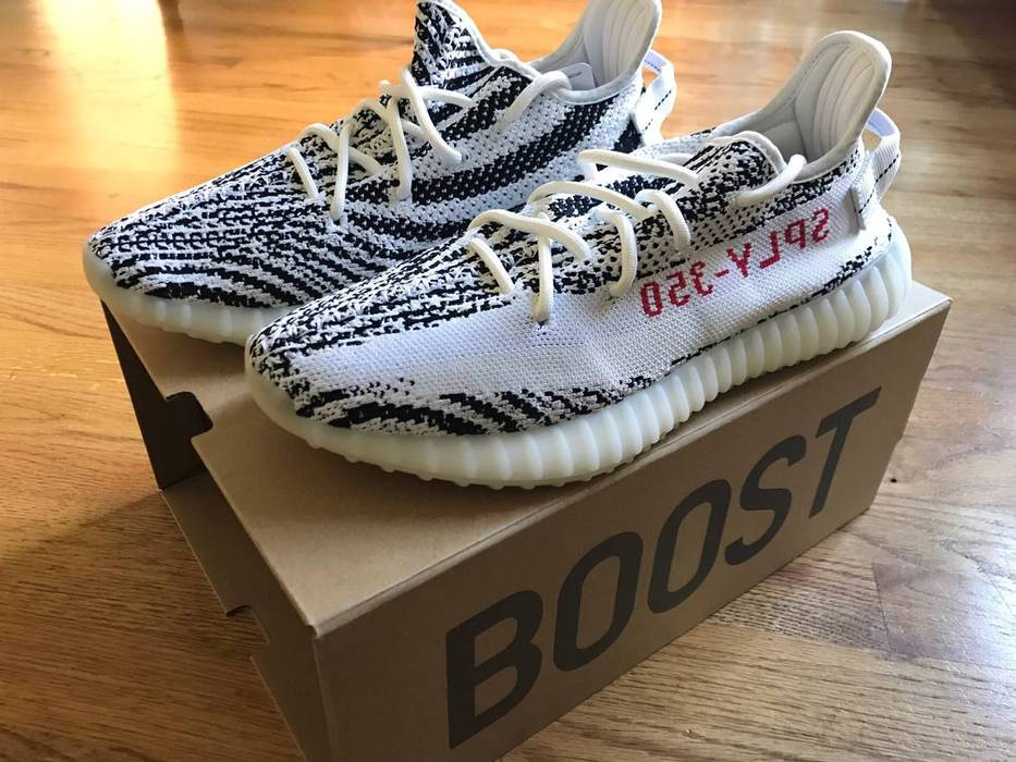 164e2a3c2 Adidas Kanye West Yeezy Boost 350v2 Zebra Size 9 - Low-Top Sneakers ...