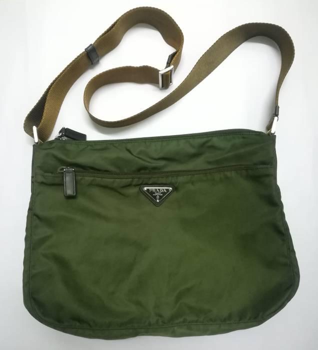 96e9d664b2 Prada   Need Gone Today   Authentic Prada Shoulder Bag Nylon Green Size ONE  SIZE