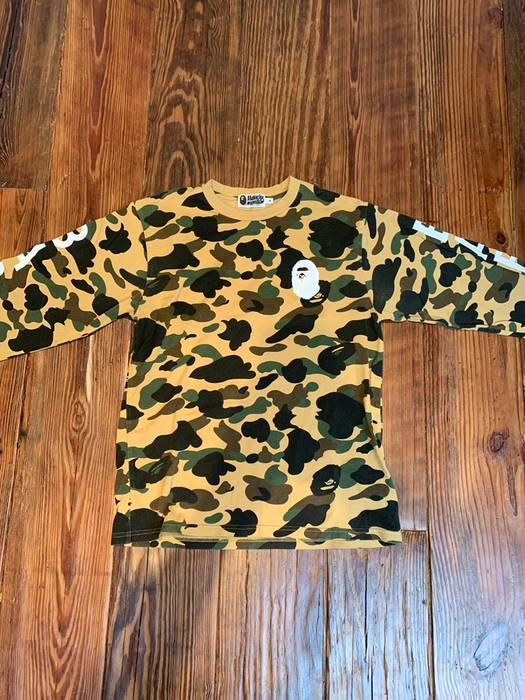 3ce389c7 Bape Bape 1st camo l/s tee men's Size m - Long Sleeve T-Shirts for ...