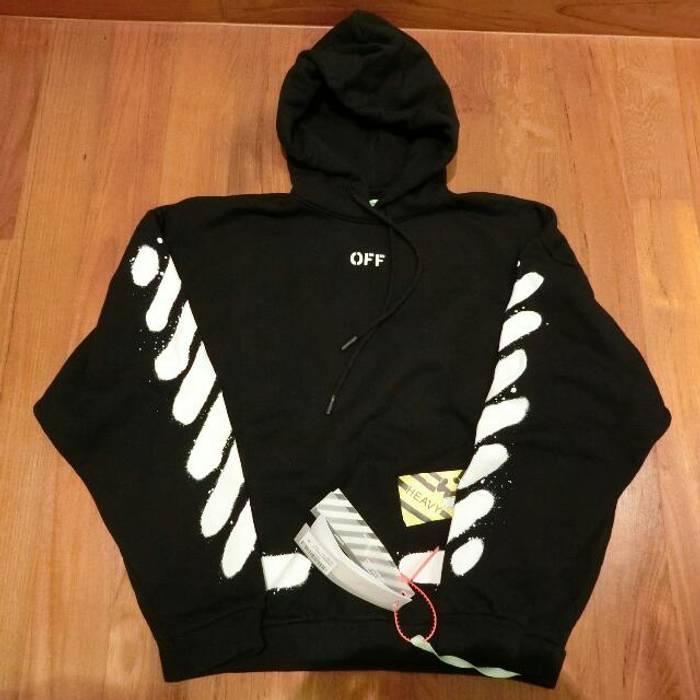 563df569b474 Off-White Off-White SS17 Diag Spray Hoodie Size m - Sweatshirts ...