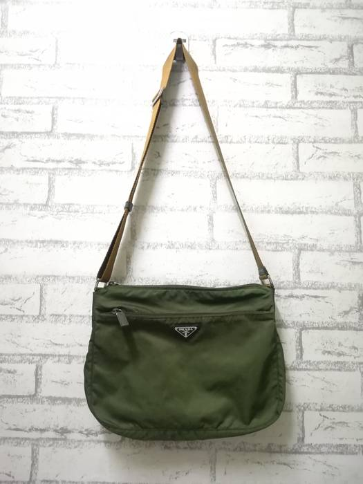 74b69465d0 Prada   Need Gone Today   Authentic Prada Shoulder Bag Nylon Green Size ONE  SIZE -