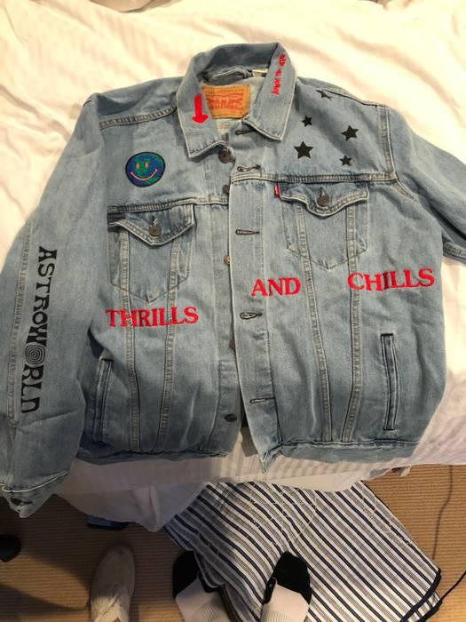 75194e4c42fb Travis Scott ASTROWORLD Denim Jacket Size xl - Denim Jackets for ...