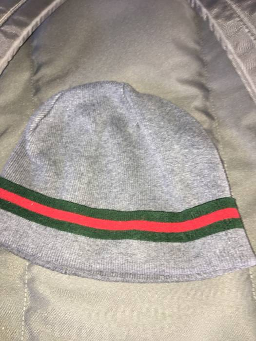 Gucci Grey Wool Gucci Beanie Size one size - Hats for Sale - Grailed 3b8d5cc24ab