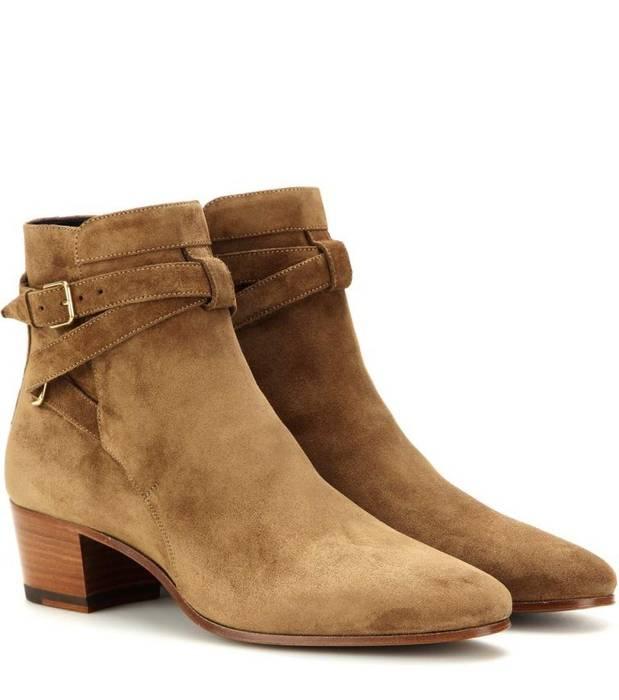 Saint Laurent Paris YSL Jodhpur boots Size 9 - Casual Leather Shoes ... e29cc256c123