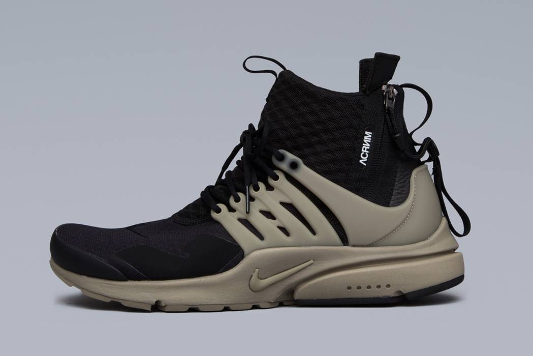 339be516a9c1 Nike Air Presto Mid - Black Bamboo - Size S Size 9.5 - Hi-Top ...