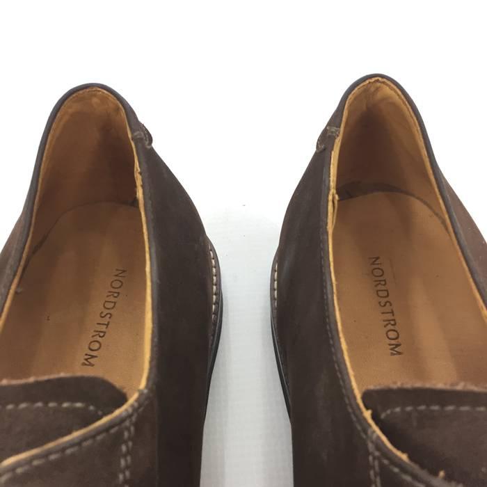22c317c7fe471 Nordstrom NORDSTROM Buck Men s Brown Suede Derby Lace Plain Cap Shoes 19 M  NEW Size US