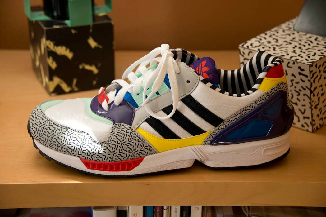 reputable site 6ebe7 bd6cf Adidas ZX 9000 sneaker from Adidas X Memphis Group Size US 11   EU 44