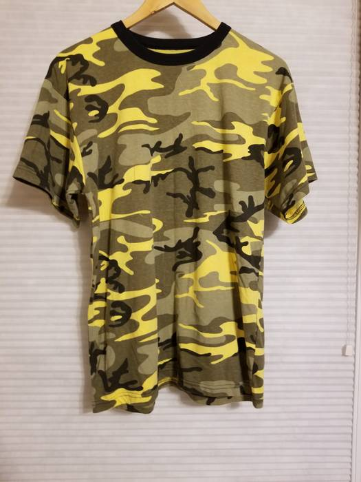 Military Rothco Stinger Yellow Camo T Shirt Size l - Short Sleeve T ... 0e6aed8fbf8