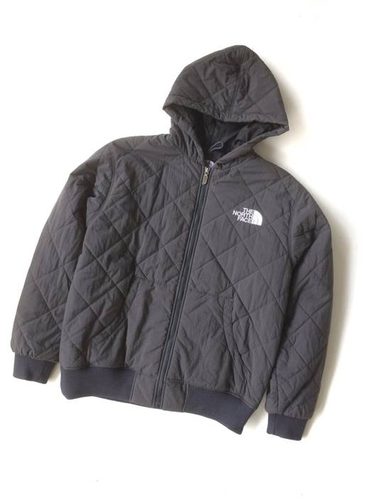 The North Face TNF Diamond Quilted Hooded Embroided Logo Down Jacket ... 080ec700a