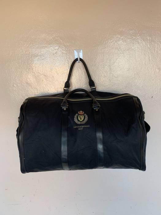 1b5b53e698dd Valentino Authentic Valentino Garavani Sport Embroidery Logo Spellout Travel  Bag Leather Not Raff Simons Versace Burberry