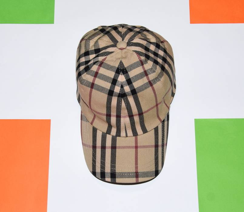fc402b6b5e2 Burberry. AUTHENTIC BURBERRY LONDON BASEBALL CAP CASUAL HAT NOVA CHECK ONE  SIZE ...