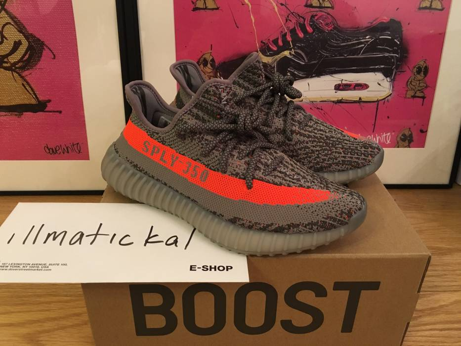 71bfb7354a3e5 Adidas Kanye West Yeezy Boost 350 V2 Beluga Size 6 - Low-Top ...