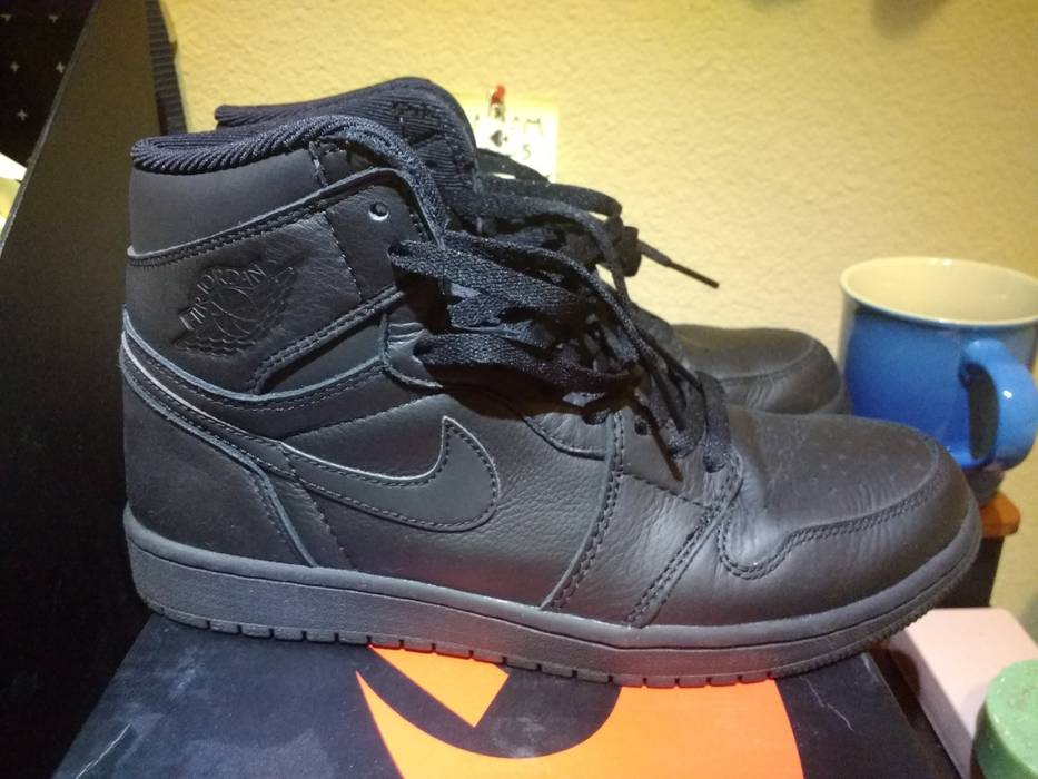 pretty nice 0897d d5d50 Jordan Brand. Air Jordan 1 Retro High OG Premium Essentials Black