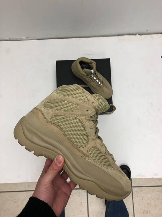 a78dace44 Kanye West Thick Suede Desert Rat Boot Taupe Size 12 Boots For. Adidas Yeezy  Season 6 ...