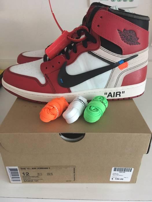 f7f4dd8720eea Nike Off-White Air Jordan 1 Size 12 - Hi-Top Sneakers for Sale - Grailed