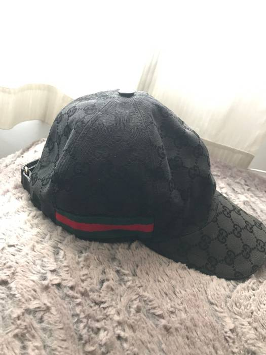 e7183bdb078 Gucci GUCCI Original GG canvas baseball hat with Web Size one size ...