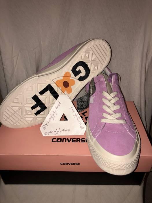 cf6db4ec6485 Converse Converse x Golf Le Fleur Fuschia Sneakers Size 9 - Low-Top ...