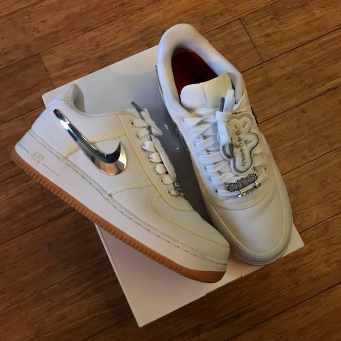b2671cb632ed6e Nike Travis Scott x Nike Air Force 1 OG White colorway Size 10 - Low ...