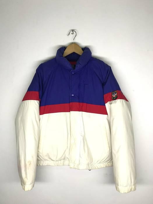 f8c1f91d0624 Polo Ralph Lauren Vtg Polo Ralph Lauren Colour Block Puffer Jacket Size US  M   EU