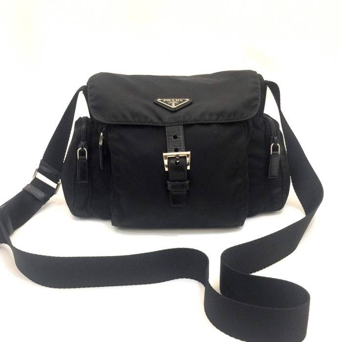 7de6203f5e94 Prada PRADA Tessuto Nylon Sling Bag Cross Body Size one size - Bags ...