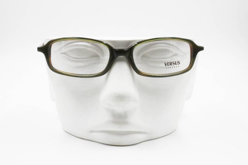 7de8be10b6d3 Versus Versace Versus By Versace C80 16A reading glasses green and wooden  effect inner