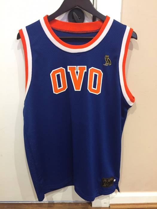 2a53ac6d2af28 Octobers Very Own. Knicks Basketball Jersey. Size  US L   EU 52-54   3