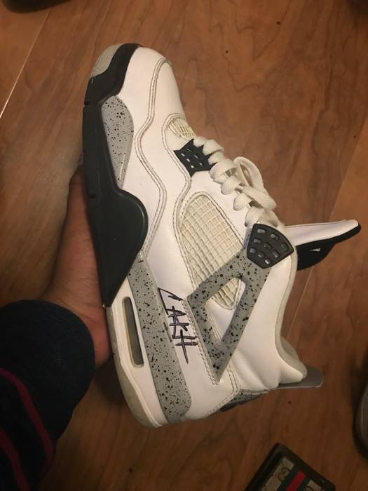 ffddd78ab6a3f6 Jordan Brand white cement 4s Size 9 - Low-Top Sneakers for Sale ...
