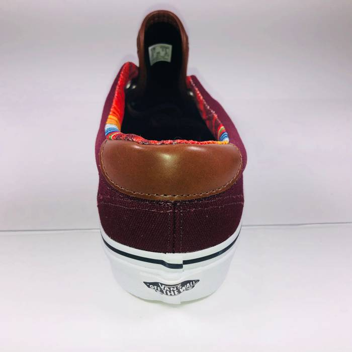 6601512a8ef Vans Vans Era 59 (C L) Port Royale   Multi Stripe Burgundy Sneakers Size US