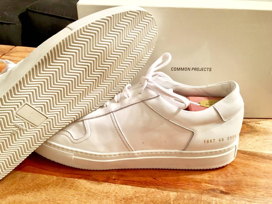 f9fb504679a3 Common Projects Bball Low Leather White Size 13 - Low-Top Sneakers ...