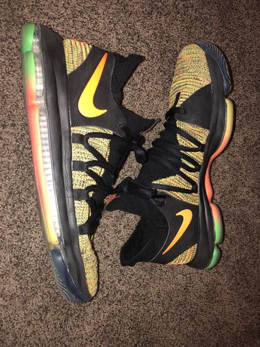 d7cd77cbfa71 Nike Kd 10 Peach jam Eybl Size 11 - Low-Top Sneakers for Sale - Grailed