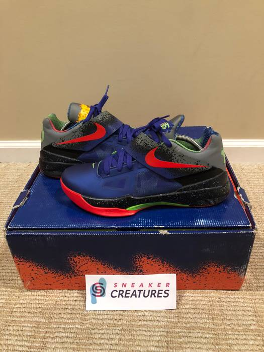 Nike Nike KD 4 Zoom Nerf 517408 400 Size 9.5 Original Box Size US 9.5   d879bce3e